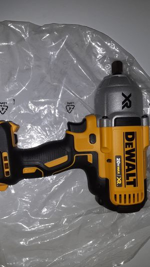 Dewalt XR 1/2 impact wrench nada menos! for Sale in Houston, TX
