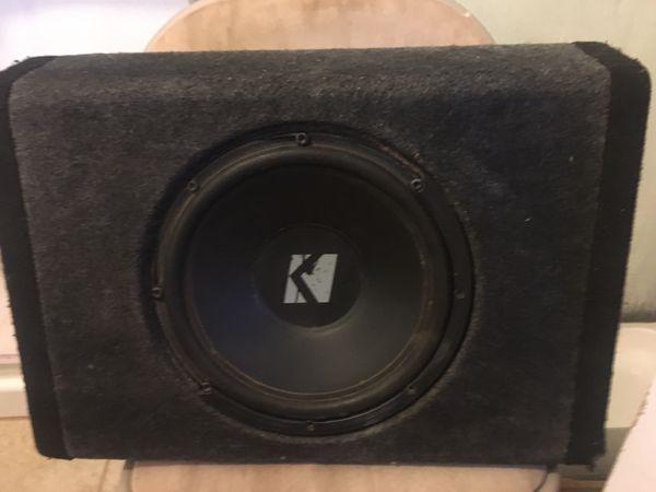 12in BassStation Kicker
