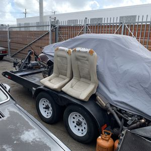 Car Transporting Trailer 18ft w Steel Tilt Including Towing Winch for Sale in Miami, FL