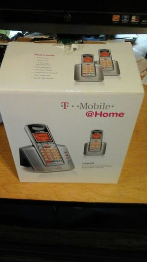 T mobile vtech two handsets for Sale in Chicago, IL