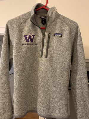 UW Law Patagonia fleece for Sale in Seattle, WA