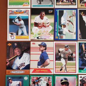 Baseball Cards - Rickey Henderson for Sale in Westfield, IN