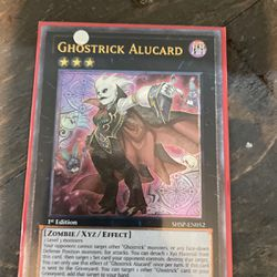 Holographic Ghostrick Alucard Yugioh Card for Sale in Sebring,  FL