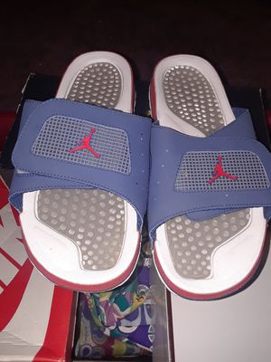 MEN'S JORDAN SLIDES SZ 12, NEW CONDITION for Sale in Nashville, TN