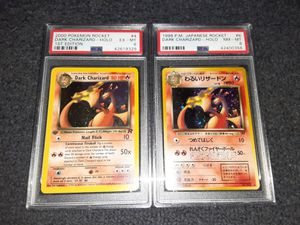 Pokemon cards vintage dark charizard 1st edition READ DESCRIPTION for Sale in Croydon, PA