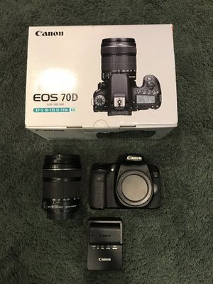 Canon 70D EF-S 18-135mm Lens Kit for Sale, used for sale  Keansburg, NJ