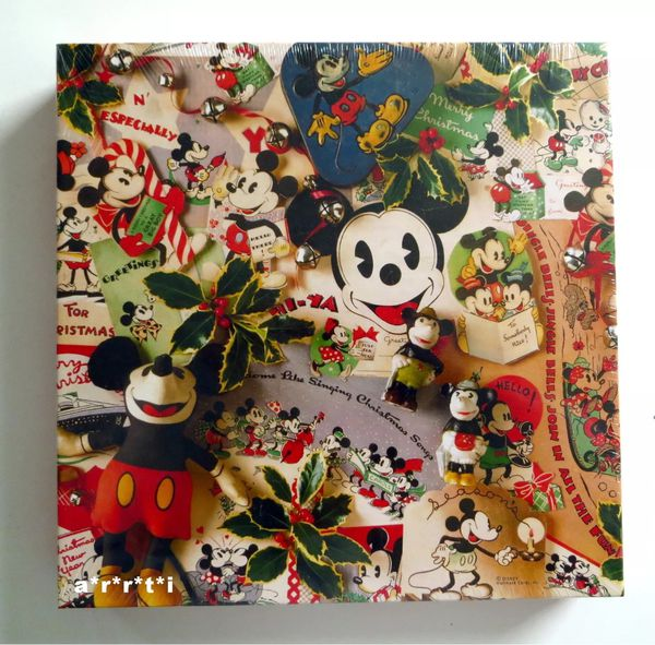 Vintage Mickey Christmas Memories 500 Piece Puzzle
