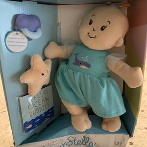 """New Manhattan Toy Wee Baby Stella 12"""" Soft Baby Doll Stellas ocean buddiesl for Sale in Las Vegas, NV"""