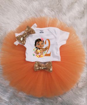 Moana Birthday outfit for Sale in San Antonio, TX