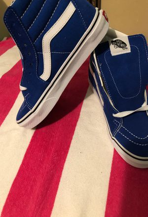 High top Royal blue Vans for Sale in Macon, GA