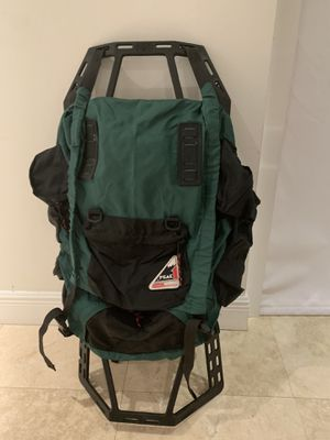 Coleman Peak XL BackPack with Internal Frame and Back-support- Hiking, Camping, Climbing. Made in the USA for Sale in Miami, FL