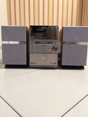 Panasonic DVD Stereo System SC-PM39D for Sale in New York, NY