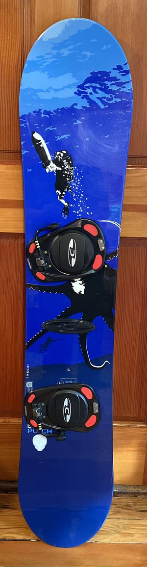 Burton Punch Snowboard with step in bindings for Sale in Sammamish, WA