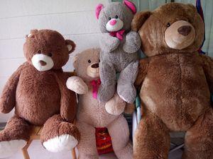Four stuffed bears for Sale in Bradenton, FL