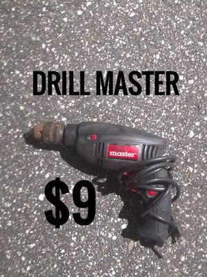 Drill MASTER Power Drill for Sale in Daytona Beach, FL