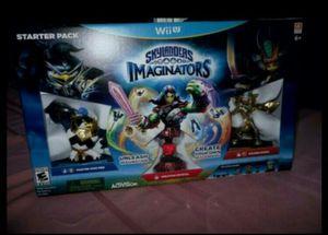 wii u skylander imaginators master king pen starter pack for Sale in Chicago, IL