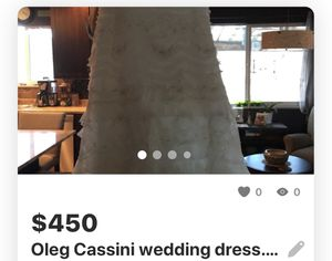 Oleg Cassini wedding dress for Sale in Grand Junction, CO