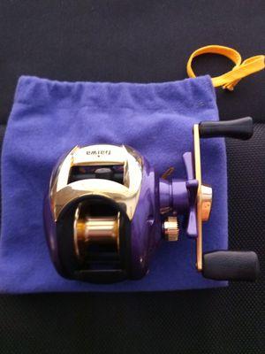 Daiwa team crown Royal fishing baitcasting reel Rare for Sale in Whittier, CA