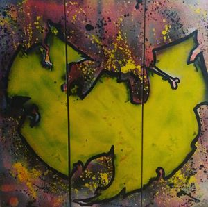 WU TANG CLAN LOGO PAINTING/ LENSON PAINTINGS for Sale in Denver, CO