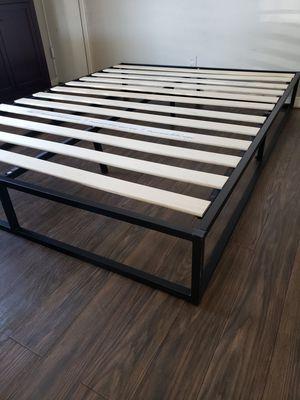 New full bed frame base para cama full nueva for Sale in Stockton, CA