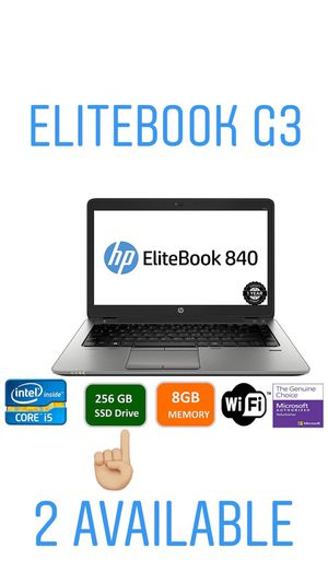 HP elitebook 840 G3 for Sale in Miami, FL