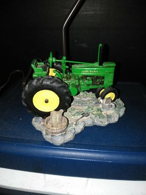 John Deere metal tractor lamp for Sale in Sterling Heights, MI