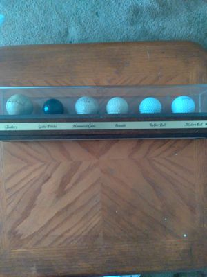 golf club set and evolution of the golf ball... for Sale in Washington, DC