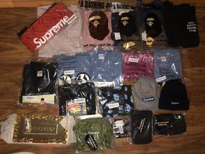 Supreme and bape items for Sale in Everett, WA