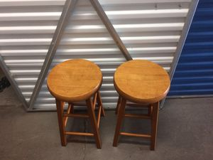 Wood bar stools for Sale in Gresham, OR