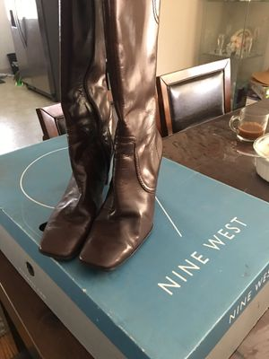 Leather boots for Sale in Hayward, CA