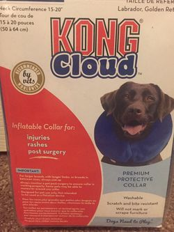 Kong Cloud Collar Blow Up Collar For Injuries And Post Surgery for Sale in Glendale,  AZ