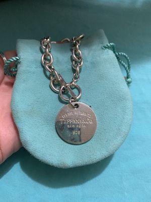 Tiffany Circle Tag Bracelet for Sale in Pasadena, CA