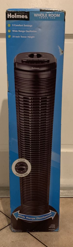 Holmes Whole Room Tower Fan for Sale in Davie, FL