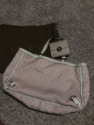 Gucci pink handle bag GG and wallet for Sale in Shelby charter Township, MI