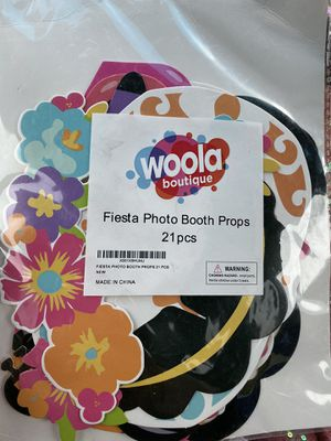 Fiesta photo booth props for Sale in Azusa, CA