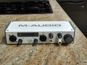 M-Audio M-Track 2 pro two channel interface for Sale in Lynwood, CA