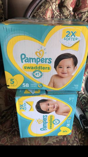Pampers each 20 for Sale in San Jose, CA