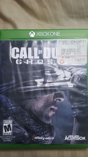 Call of Duty Ghost Xbox One Game for Sale in Miami Gardens, FL