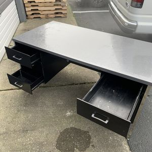 Metal Desk with Formica Top (old/Boeing Surplus) for Sale in Woodinville, WA