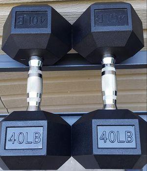 40lb dumbbells for Sale in Suisun City, CA