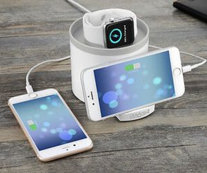 New in box imobi4 charging station with 3 USB ports for watch and phones for Sale in Garden Grove, CA