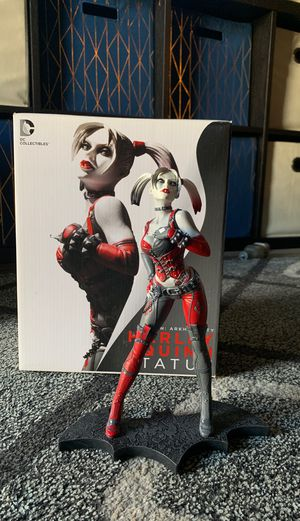 DC collection Arkham City Harley Quinn statue for Sale in Glendale, AZ