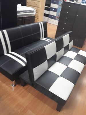 Great New Leather Futon Sofa Bed for Sale in Ventura, CA