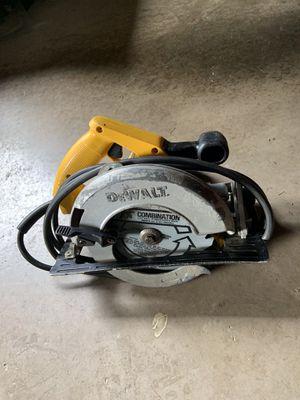 """Dewalt 7 1/4"""" circular saw for Sale in Sunbury, PA"""