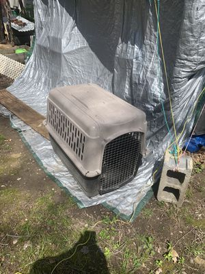 Large dog carrier, used one time for Sale in Grottoes, VA