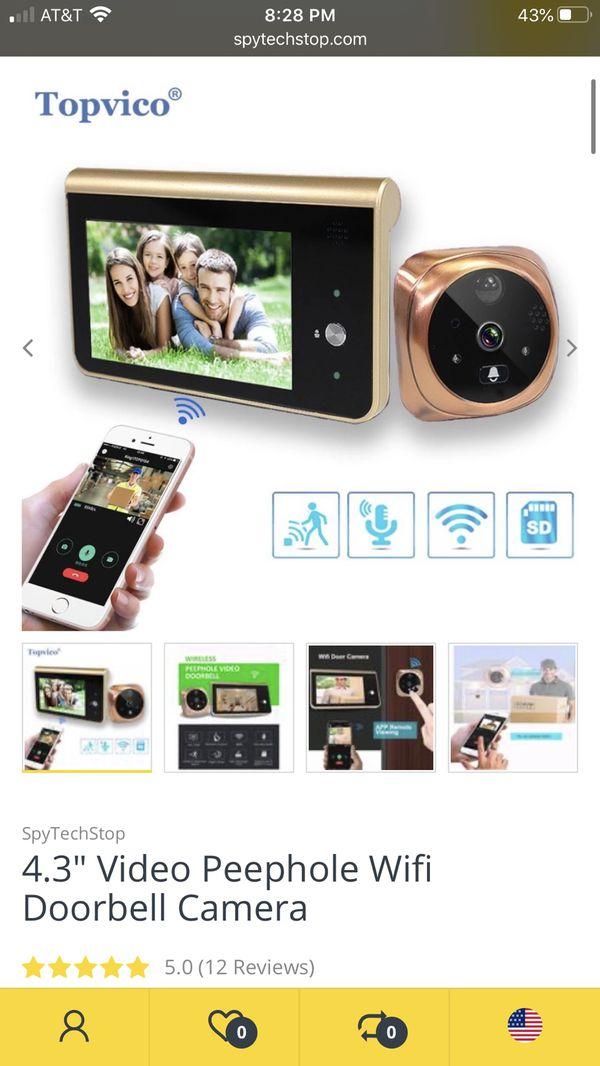 Topvico WiFi Doorbell Camera