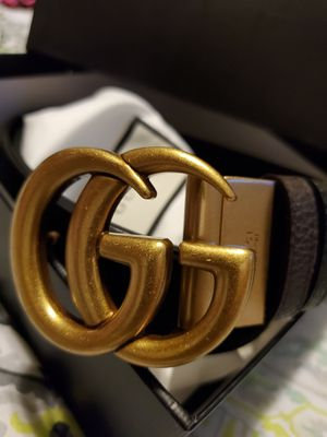 Authentic Gucci Reversible Leather belt🔥🔥🔥 for Sale in West Haven, CT