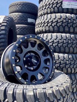 "17"" METHOD Off-Road Wheel & Tire ✅ 17"" Method NV Wheels ✅ 33x12.50R17 Kanati MT Tires Package Deal ONLY $1599 ( Limited Time Offer ) for Sale in La Habra Heights,  CA"