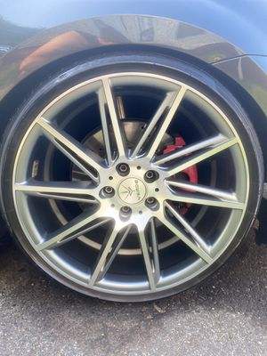 19inch wheel staggered for Sale in Meriden, CT