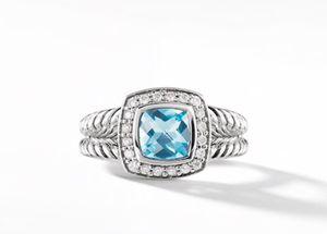 David Yurman ring size 7 Blue Topaz for Sale in Brambleton, VA